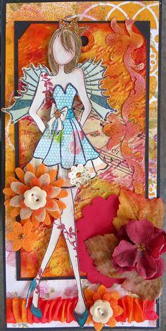 Prima Art doll Stamp