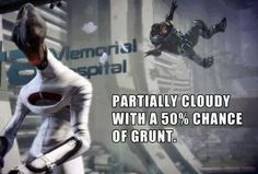 Weather forecast.  Shep: I love you, Grunt. Grunt: Heh, heh, heh.>>>>>>> Grunt is my adopted son.