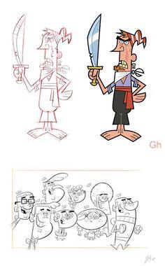 """""""Os Padrinhos Mágicos"""", por Gordon Hammond"""