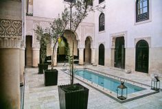 Potteries exterieur marrocaine | terrazza su tetto splendida vista