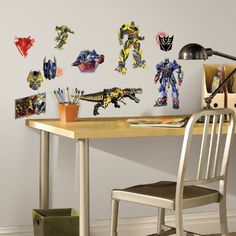 RoomMates Transformers: Age of Extinction Peel and Stick ... http://www.amazon.com/dp/B00JMKKY50/ref=cm_sw_r_pi_dp_.CKsxb0P5FCH2