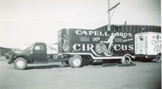 Capell Bros. ticket wagon.....1950.