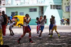 Havana, Cuba #street #scene #kids
