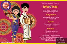4 Disadvantages Of Wedding Caricature The States Images And How You Can Workarou… 4 Disadvantages of Wedding Cartoon The States … Indian Wedding Invitation Cards, Creative Wedding Invitations, Indian Wedding Invitations, Invites, Invitation Ideas, Invitation Design, Wedding Card Design Indian, Indian Wedding Cards, Card Box Wedding