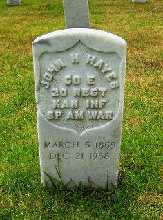 Point Loma National Cemetary: Spanish American War Headstone | Flickr - Photo Sharing!