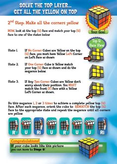 How to solve a rubik's cube - Imgur