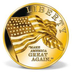 Donald Trump - Make America Great Again High-Relief Commemorative Coin Bullion Coins, Coins For Sale, Status Quo, Commemorative Coins, Patience, Donald Trump, Strong, America, Donald Tramp