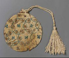Mamluk embroidered linen bags