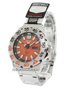 Seiko 5 Sports Automatic SRP483J1 SRP483J1 SRP483J1 Men's Watch