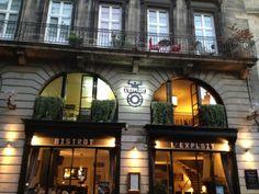 L'Exploit, un resto canaille à Bordeaux, superbe carte !
