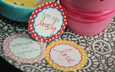Free DIY Printable Mother's Day Gift Tags