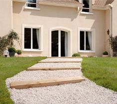 all/ée et d/écoration /à lint/érieur et /à lext/érieur marbre 15-25 mm 100 Kg de gravier Blanc roul/é rond pour Jardin