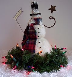 More to come so check back again.      Snowman with Lights  Designby Country Whims      Santa Penny Rug Sled  Designby Renee Mull...
