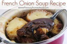 French Onion Soup Recipe | The Easy Homestead (.com)