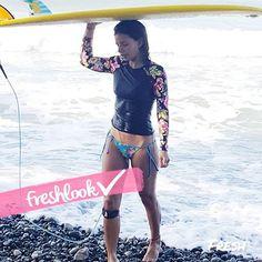 El #FreshLookRD de la semana va para @yannell.dickson  Definitivamente nos encanta su look de verano al surfear en las hermosas playas de #RepublicaDominicana   Yannell es una fiel seguidora de la moda  diseñadora interiores profesional y parte del equipo FRESH desde el día cero (enero del 2014)  Estamos muy orgullosos de que Yannel sea parte de nuestro equipo.  Si quieres conocer los consejos aportados por Yannel al mostrarnos cómo crear su propia tabla de surfear visita freshrevista.com…