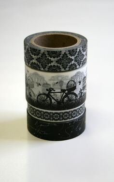 Washi+Tape+Set++15mm++Combination+EB+Black+and+White+by+InTheClear,+$12.35