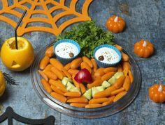 Halloween: Halloween face made of vegetables/halloween naama