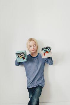 Mer Mag: Snack Box Puppet DIY