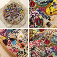 Details from Hannah Claire Sommerville's 1 Year of Stitches project
