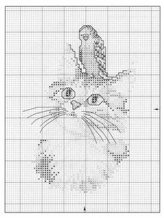 Cat Cross Stitches, Funny Cross Stitch Patterns, Cross Stitching, Cross Stitch Embroidery, Embroidery Patterns, Just Cross Stitch, Cross Stitch Needles, Cross Stitch Animals, Cross Stitch Charts