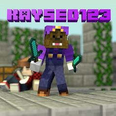 Render for @kaysed123 REQUESTS ARE CLOSED. #minecraft #minecrafters #minecraftonly #mc #mcpe #mconly #igers #instagood #instamood #instadaily #tflers #tagsforlikes #hashtag #art #drawing #color #lego #legos #repost #render #blender #minecraftrender #minecraftblender