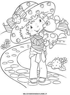 Fragolina Dolcecuore Da Colorare.11 Best Fragolina Dolcecuore Da Colorare Images Strawberry