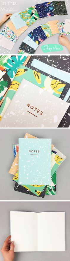 New Wrap Notebooks in this week!