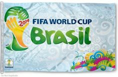 FIFA World Cup Brasil Flag