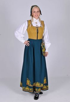 Hello all, Today I will try to cover all of Norway. Norway has many beautiful costumes, and the folk costume culture is alive and we. Norwegian Clothing, Norwegian Wedding, Norse Vikings, Beautiful Costumes, Thinking Day, Bridal Crown, Folk Costume, Traditional Outfits, Norway