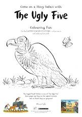 The ugly five vulture colouring page 1657650