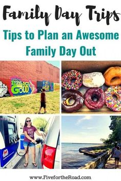 Family Day Trips: Tips for Planning a Day Trip | Tips to plan a family day trip with kids. Ideas for family fun activities. Family Vacation Destinations, Vacation Trips, Day Trips, Road Trip Essentials, Road Trip Hacks, Travel With Kids, Family Travel, Family Days Out, Road Trip Usa