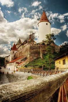 Castello di Krivoklat, Republica Ceca  -  http://tassels.tumblr.com/post/44126068950/castello-di-krivoklat-republica-ceca