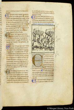 Jeu des échecs moralisé, MS G.52 fol. 18r - Images from Medieval and Renaissance Manuscripts - The Morgan Library & Museum