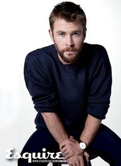 Chris Hemsworth in Esquire Vietnam.