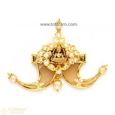 Gold Pendants - View and shop our collection of gold pendants made in India - Indian Gold Jewelry - Buy Online Indian Gold Jewellery Design, Indian Jewelry, Jewelry Design, Gold Wedding Jewelry, Gold Jewelry, Tiger Nails, Gold Pendants, Temple Jewellery, Lockets