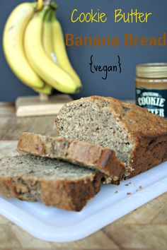 Cookie Butter Banana Bread {vegan}