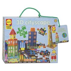 Mya: Alex Toys Little Hands 3D Cityscape Puzzle