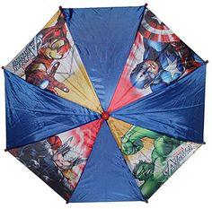 Marvel Avengers Azul Paraguas - http://comprarparaguas.com/baratos/marvel/marvel-avengers-azul-paraguas/