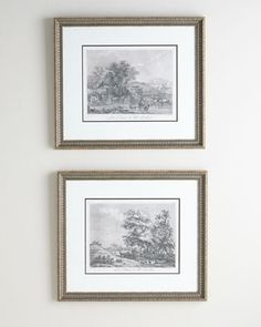 Two Landscape Prints  by PARAGON DECORS at Horchow.  #HORCHOW