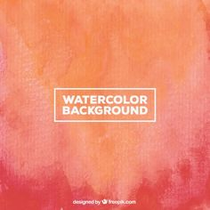 Watercolor background in gradient style Free Vector