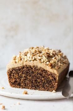 Vegan coffee walnut cake is easy and quick to make, moist and delicious. It will make coffee and nut affectionados very happy indeed. Vegan Treats, Vegan Desserts, Vegan Recipes, Vegan Coffee Cakes, Patisserie Vegan, Coffee And Walnut Cake, Lazy Cat Kitchen, Cake Recipes, Dessert Recipes