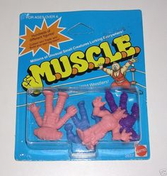 Muscle Men figures. I worked in a little toy store in the late 80s, and these were very popular for a while!