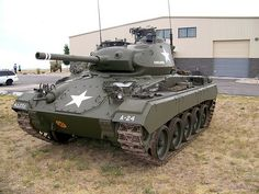 United States M24, Chaffee Light Tank - World War II Vehicles, Tanks, and Airplanes