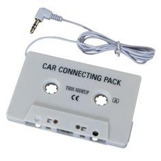 Insten Universal Car Audio Cassette Adapter