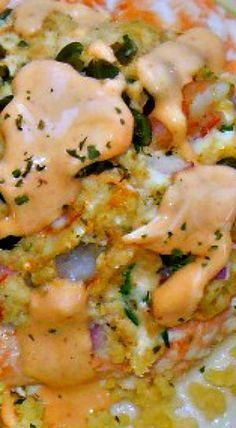 Mouthwatering Crab & Shrimp Stuffed Salmon