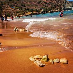 #malta #RamlaBay #Gozo #summer #beach