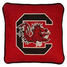 Collegiate Needlepoint Pillow #pbteen
