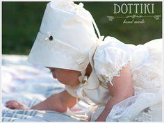 Girl Bonnet  Silk Bonnet  Girl Hat  Girl Cap  by DOTTIKI on Etsy