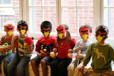 More from the Mohrs: Appy Bird-day, E! (Angry Birds Birthday Party)