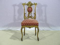 Gilt French Vanity Chair